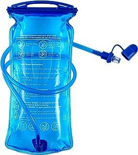 B-Earth Bolsa de hidratación, 3L, 2L 1,5L, depósito de Agua de Apertura Grande, a Prueba de Fugas, Bolsa de Almacenamiento...