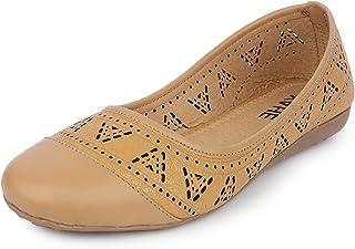YAHE Women's Casual Led Napa Ballet Shoes Y-703