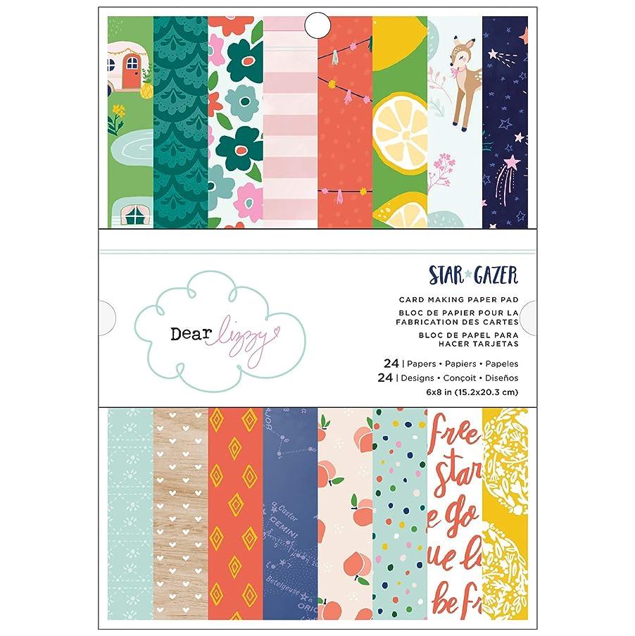 American Crafts 349653 Star Gazer Paper Pad, Multicolor