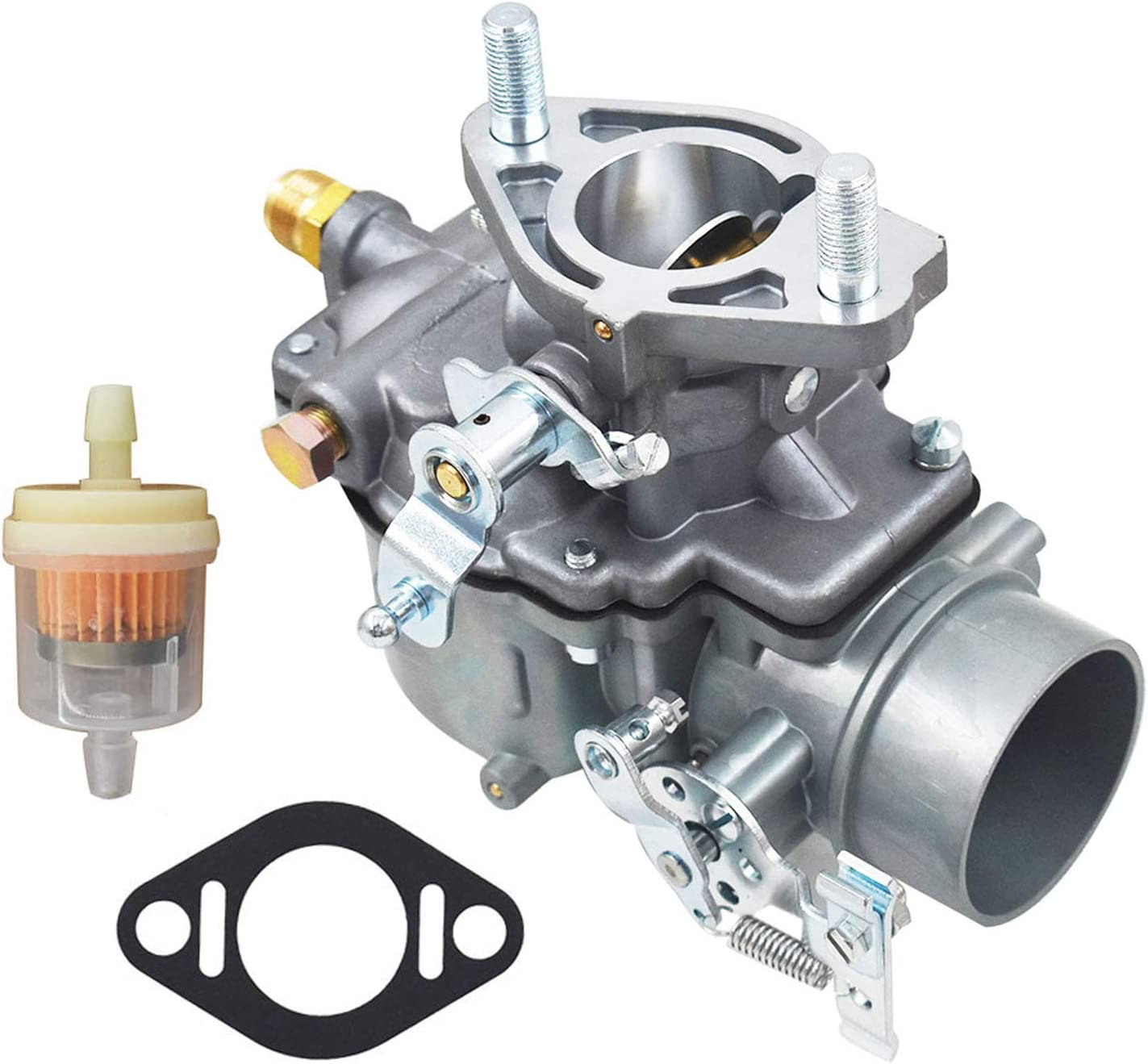 Autoparts Total Power Parts Carburetor 1103-0004 Replacement for Ford/New Holland Tractor 3000 Series 3 Cyl 1965-1974 3055 13916 C5NE9510C C5NN9510M C7NN9510C