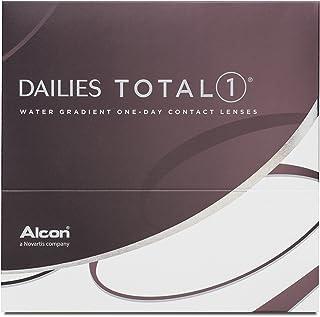Dailies Total 1 10075067 Lentes de Contacto, R 8.5, D 14.1, Dioptría -3,25-90 Unidades