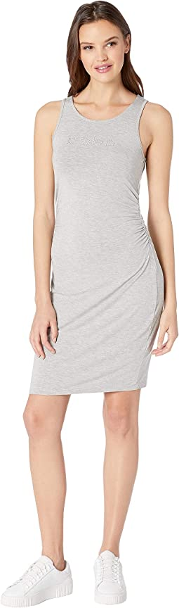 Sleeveless Logo Dress