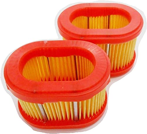 discount New 2 Air Filters for Compatible with Briggs & Stratton Air Filter Part Number 790166 outlet sale or 698867 outlet sale fits 093302, 093312 and 093332 online
