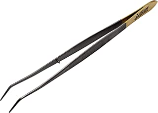 Meriam Tweezer College tweezer Dental Dressing Angled Tip Surgical Forceps Instruments Surgical Forceps Pliers ARTMAN Brand