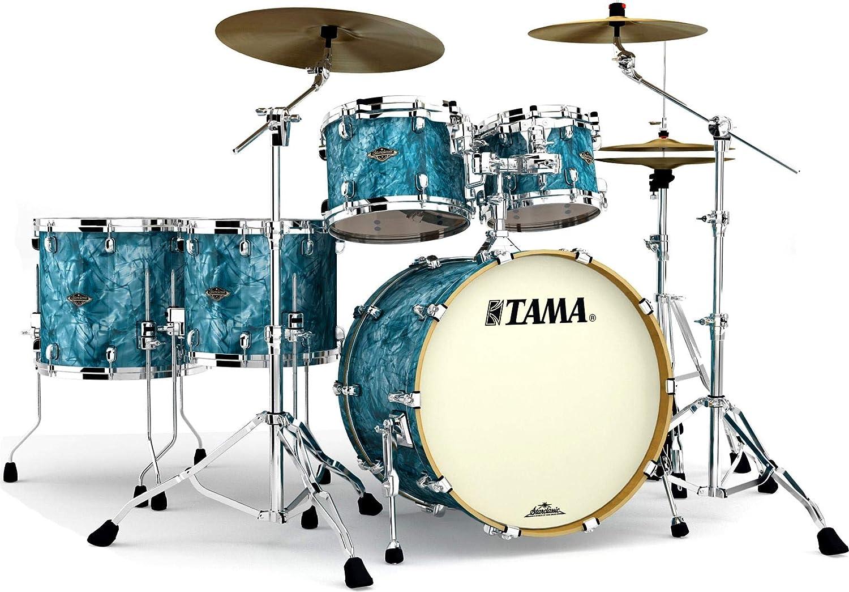 Free shipping New Tama Regular store Starclassic Walnut Birch WBR52LS Shell - Pack 5-piece Turqu
