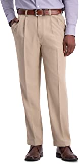 Haggar Men's Cool 18 PRO Classic Fit Pleat Front Pant Pants