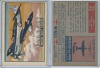 1952 Topps, Wings, 35 Firefly, British