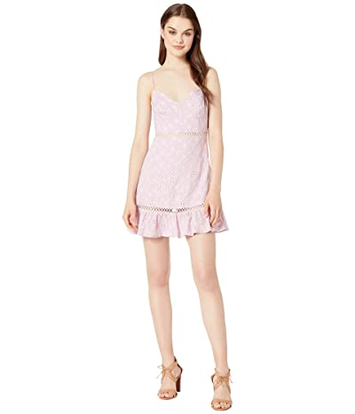 ASTR the Label Anne Dress (Orchid/White) Women