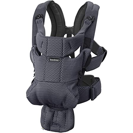 BABYBJÖRN Baby Carrier Free, 3D Mesh, Anthracite