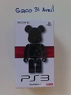 bearbrick 100% ps3 Playstation be@rbrick rare art toys  フランスからの直輸入品