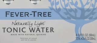 Fever-Tree Naturally Light Tonic Water, 5.07 Ounce Cans (Pack of 8)