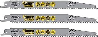 comprar comparacion SabreCut SCRS2345X_3 - Juego de 3 hojas de sierra de sable para madera (200 mm, 6-10, TPI, S2345X, muy rápidas, para Bosch...