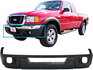 MBI AUTO - Textured, Black Lower Front Bumper Fascia Valance for 2004 2005 Ford Ranger XL XLT 04 05, FO1095217