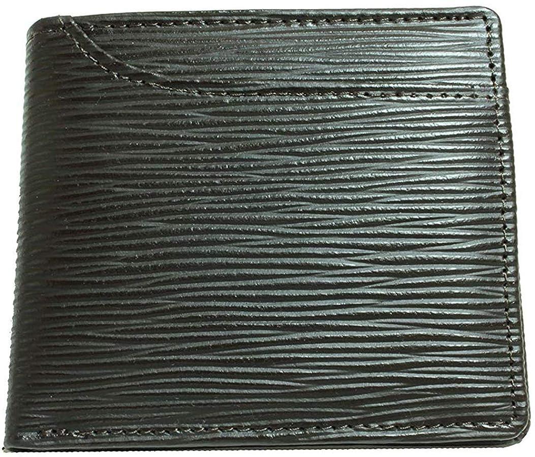 明るい年金区別する[BlissLeather] 【極上イタリアンレザー】短財布 二つ折り財布 革財布 メンズ PRLP-2004