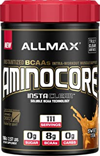 ALLMAX Nutrition Aminocore BCAAs, Sweet Tea, 1166 g