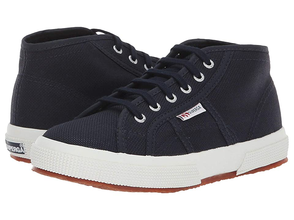 Superga Kids 2754 JCOT Classic (Toddler/Little Kid) (Navy/White) Kid