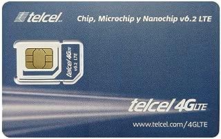 Telcel Mexico Prepaid SIM Card (SIM-only)