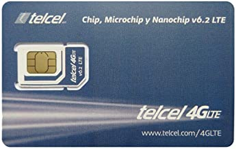 Telcel Mexico Prepaid SIM Card (SIM-only)