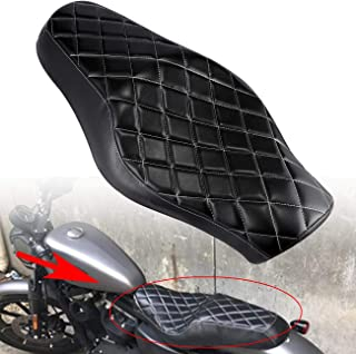 INNOGLOW Motorcycle Driver Front Rear Passenger Seat Two Up for its Harley Davidson Forty-eight 2010-2016, Seventy-two 2010-2016 Sportster 1200 883 Models