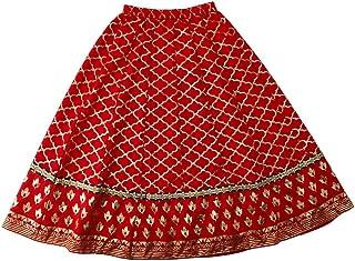 Srishti By FBB Gold Print Skirt