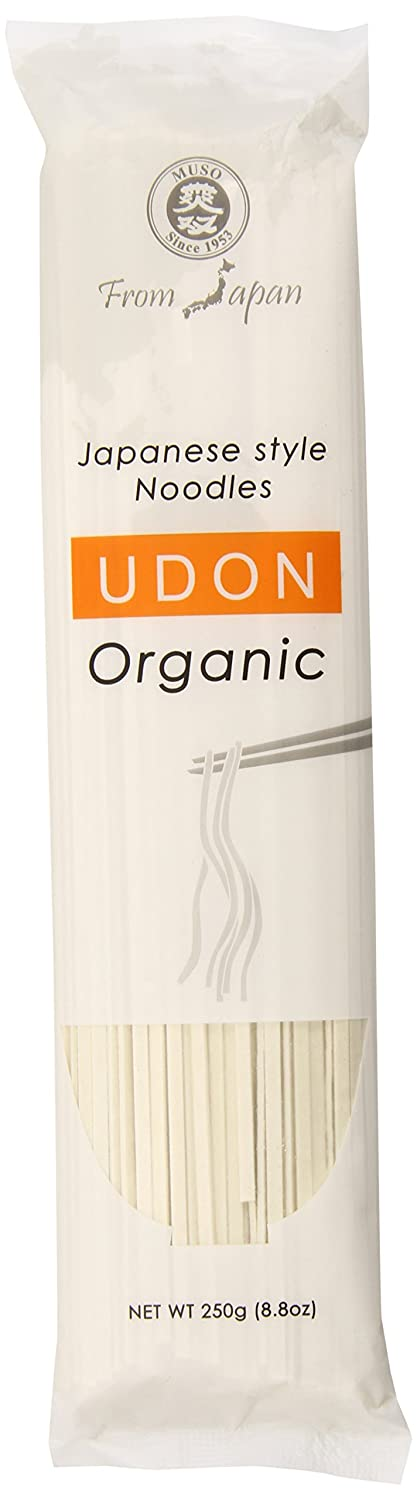 Muso From Japan Organic Japanese Noodles, Udon, 8.8 Ounce