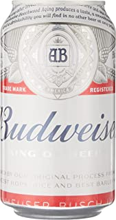 Budweiser Beer Can, 355 ml (Pack of 24)