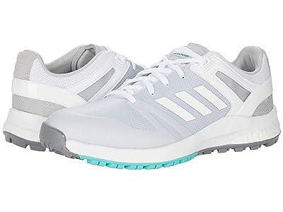 adidas Golf EQT SL (White/White/Acid Mint) Women