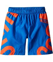 Moschino Kids - Logo Graphic Swim Shorts (Little Kids/Big Kids)