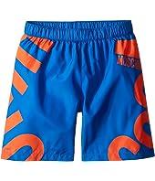Moschino Kids - Logo Graphic Swim Shorts (Little Kids/Big Kids)