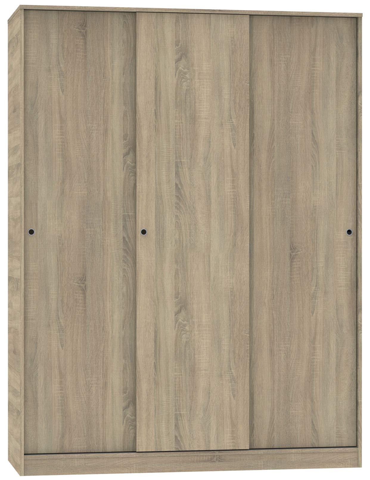 Armario vestidor ropero 3 Puertas Tibet Cambrian habitación Matrimonio Juvenil Dormitorio 200x150x55 cm: Amazon.es: Hogar