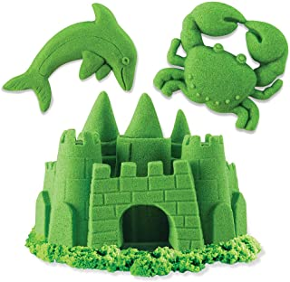 Baby Products Baby & Toddler Toys Piasek Construccyjny 2 Kolory zielony-niebieski 454g Multi-Coloured Spin Master 5909980Z Kinetic Sand Build