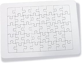 kdc 無地ホワイトパズル A5 ノーマルピース 40P
