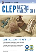 CLEP® Western Civilization I Book + Online (CLEP Test Preparation)