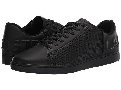 Lacoste Carnaby Evo 120 5 (Black/Black) Men