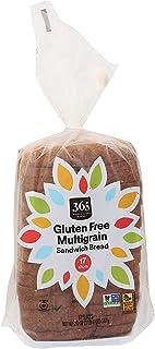 365 by Whole Foods Market, Sandwich Bread, Gluten Free Multigrain (17 Slices), 20 Ounce