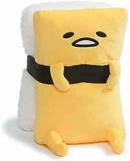 GUND Sanrio Gudetama The Lazy Egg Tamago Sushi Stuffed Animal Plush, White & Yellow, 9