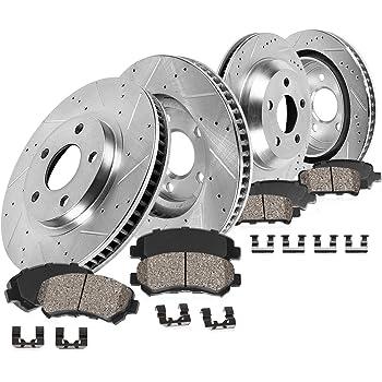 - Truck Models Front Rear Ceramic Pads w//Hardware Brake Cleaner Fluid for 2009-2017 Dodge Ram 2500 // Ram 3500 - 2012 Ram 1500 Tradesman HD Detroit Axle