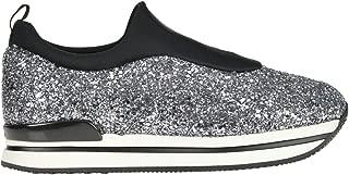 HOGAN Luxury Fashion Womens MCGLCAK000006088I Silver Slip On Sneakers | Season Outlet