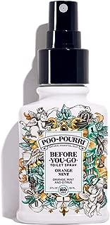 Poo-Pourri Before-You-Go Toilet Spray, Orange Mint Scent, 2 oz
