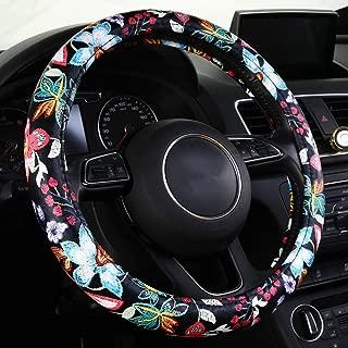 Best flower steering wheel covers Reviews