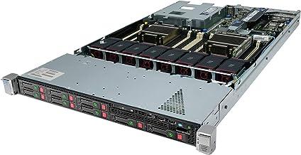 High-End HP ProLiant DL360P G8 Server 2 x 2.70Ghz E5-2680 8C 128GB 8 x 146GB 15K (Renewed)