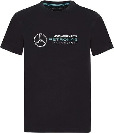 Formula 1 Youth Large Logo tee F1 Tech Collection, Blanco, Juvenil Grande (14-16)