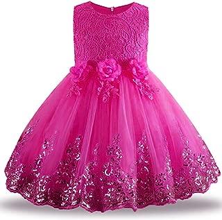 Summer Dress for Children Flower Girls Dress Party Wedding Dress Elegant Princess