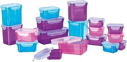 GOURMETmaxx 03813 Set de 12 Pi/èces de Conservation Plastique Multicolore 6 Bo/îtes + 6 Couvercles