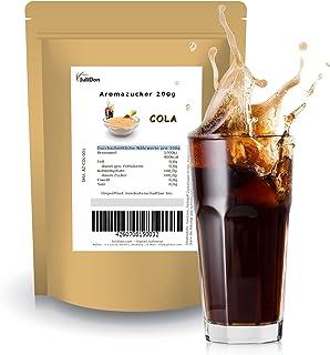 JuliDon® Goût « Cola » pour machine à barbe à papa, barbe à papa, popcorn, cocktails, bonbons | sucre coloré aromatisé 1 x...