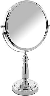 Danielle Creations Large Column Stem Vanity Mirror, 10X Magnification