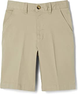 French Toast Boys' Flat Front Stretch Short