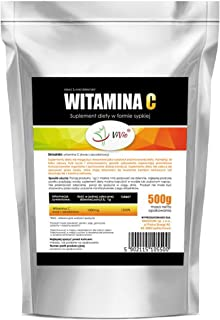 Vitamina C en polvo 500g | Ácido L-ascórbico | Pack Ahorro | ViVio