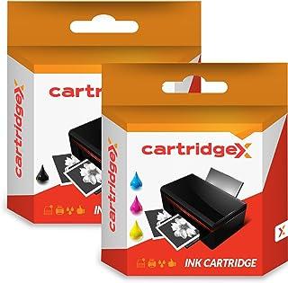 Cartridgex Remanufacturado Cartucho de Tinta Multipack Reemplazo para HP 337 XL + 343 XL HP OfficeJet 6310 6310XI 7130XI H470 H470B H470WBT