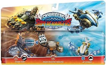 Skylanders Super Chargers Wave 2 Triple Pack: Terrafin/Shark Tank/Jet Stream